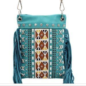 Handbags - IPHONE FRINGE PURSE